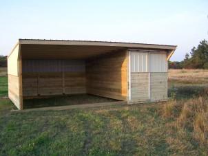 Custom Built Livestock Shelters